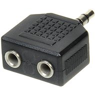 OEM audio 3.5mm JACK --> 2x 3.5mm  JACK - Adapter