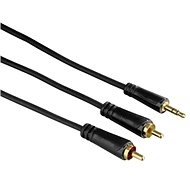 Hama 3.5mm jack connection (M) - 2 RCA (M) 1.5m - Audio Cable