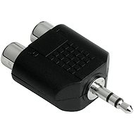 Hama audio 3.5mm jack - 2 cinch sockets - Adapter