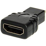 HDMI A(F) --> micro HDMI(M), gold-plated connectors - Adapter