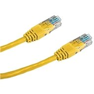 Datacom CAT5E UTP yellow 0.5m - Network Cable