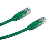 Datacom CAT5E UTP green 0.5m - Network Cable
