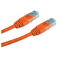 Datacom CAT5E UTP orange 0.5m