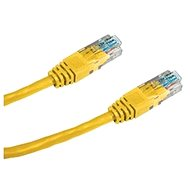 Datacom, CAT6, UTP, 0.25 m yellow - Network Cable