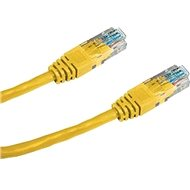 Datacom CAT5E UTP yellow 5m