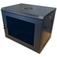 "19"" RACK single piece 9U black - Rack"