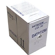 Datacom, wire, CAT5E, FTP, PE outdoor, 305m/box - Network Cable