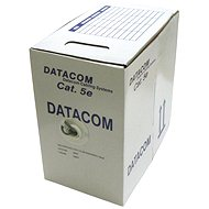 Datacom, stranded (stranded), CAT5E, UTP, 305m/box - Network Cable