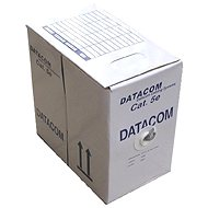 Datacom Ethernet cable, CAT5E, UTP, 305m/box green - Network Cable