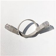 Datacom Patch Cord UTP CAT6 0.25m Grey FLAT - Network Cable
