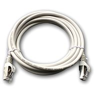 Datacom CAT6A Patch Cord S/FTP 3m Grey - Network Cable