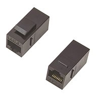 DATACOM Panel Coupler UTP CAT5E 2xRJ45 (8p8c) straight - Coupler