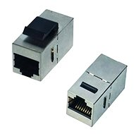 DATACOM Panel coupler STP CAT5e 2xRJ45 (8p8c) straight - Coupler
