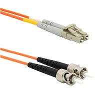 DATACOM LC-ST 62.5 / 125MM 2m duplex - Audio Cable