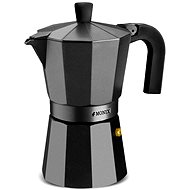 MONIX Vitro-Noir Coffee Machine for 6 Cups M640006 - Moka Pot