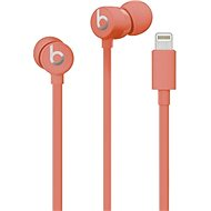 Beats urBeats3 with Lightning Connector - Coral Red - Headphones with Mic