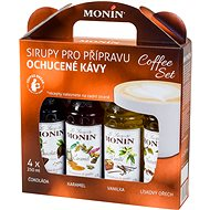 MONIN COFFEE BOX 4 x 0.25 l Syrup - Příchuť