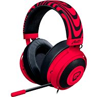 Razer Kraken V2 Neon Red PewDiePie - Gaming Headset