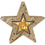 Marimex Star 2in1 10 + 6 LED Nature - Christmas Lights