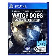 Watch Dogs Complete Edition CZ - PS4 - Console Game