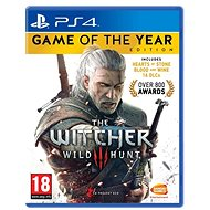 The Witcher 3: Wild Hunt - Game of the Year Edition - PS4 - Console Game