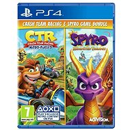Crash Team Racing Nitro Fueled and Spyro Reignited Trilogy Bundle - PS4 - Console Game