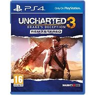 Uncharted 3: Drake's Deception Remastered - PS4 - Console Game