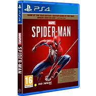 Marvels Spider-Man GOTY - PS4 - Console Game