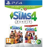 The Sims 4: Dogs and Cats Bundle (Full Game + Expansion) - PS4 - Console Game