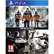 Rainbow Six Siege + The Division DuoPack - PS4