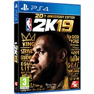 NBA 2K19 - 20th Anniversary Edition - PS4 - Console Game