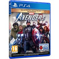 Marvels Avengers: Deluxe Edition - PS4 - Console Game