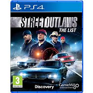 Street Outlaws: The List - PS4 - Console Game
