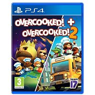 Overcooked! + Overcooked! 2 - Double Pack - PS4 - Console Game