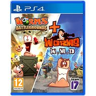 Worms Battlegrounds + Worms WMD Double Pack - PS4 - Console Game