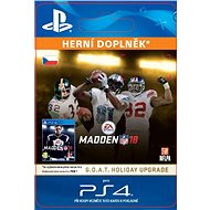 MADDEN NFL 18: GOAT Holiday Upgrade - PS4 HU Digital - PC Game