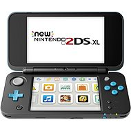 New Nintendo 2DS XL Black & Turquoise - Game Console