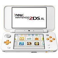 New Nintendo 2DS XL White & Orange - Game Console