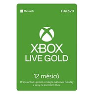 Xbox Live 12 Month Gold Membership Card (Digital Code) - Xbox Live Gold Membership card