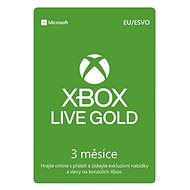 Xbox Live Gold - 3 Month Membership - Prepaid Card