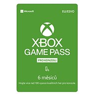 Xbox Game Pass - 6 Month Subscription - Prepaid Card