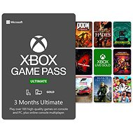 Xbox Game Pass Ultimate - 3 Month Subscription - Prepaid Card