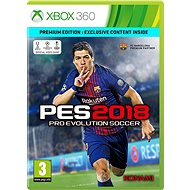 Pro Evolution Soccer 2018 Premium Edition - Xbox 360 - Console Game