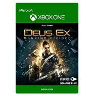 Deus Ex Mankind Divided: Standard Edition - Xbox One DIGITAL - Hra pro konzoli