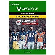 Madden NFL 17: MUT 2200 Madden Points Pack - Xbox One DIGITAL - Console Game