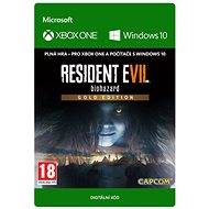 RESIDENT EVIL 7 Biohazard Gold Edition - (Play Anywhere) DIGITAL - Game for PC and XBOX