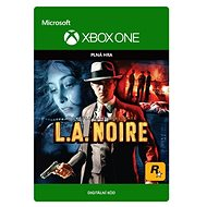 L.A. Noire - Xbox One Digital - Console Game