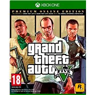 Grand Theft Auto V: Premium Online Edition  - Xbox One DIGITAL - Gaming Accessory