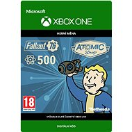 Fallout 76: 500 Atoms  - Xbox One Digital - Gaming Accessory