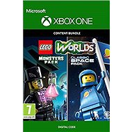 LEGO Worlds Classic Space Pack and Monsters Pack Bundle - Xbox One Digital - Console Game